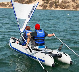 Sea Eagle 435ps Paddleski Review
