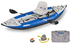 Sea Eagle 300x Swivel Seat Fishing Rig