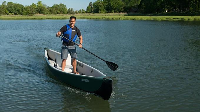 Sea Eagle Travel Canoe 16 Stability