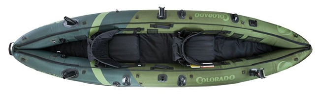 Sevylor Colorado Inflatable Fishing Kayak