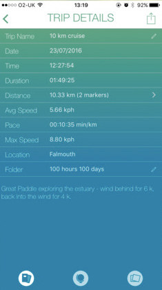 Paddle Logger Kayaking App