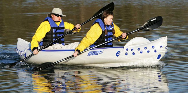 Sea Eagle SE370 Inflatable Kayak