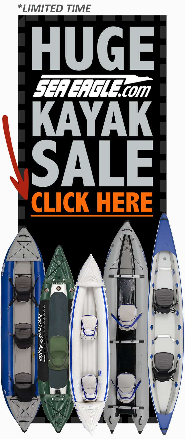 HUGE Sea Eagle Kayak Sale